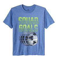 Boys 8-20 Tek Gear® Squad Goals Soccer Tee