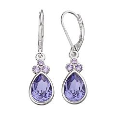 Dana Buchman Crystal Teardrop Earrings