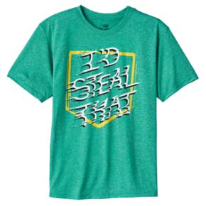 Boys 8-20 Tek Gear Steal Bases Tee