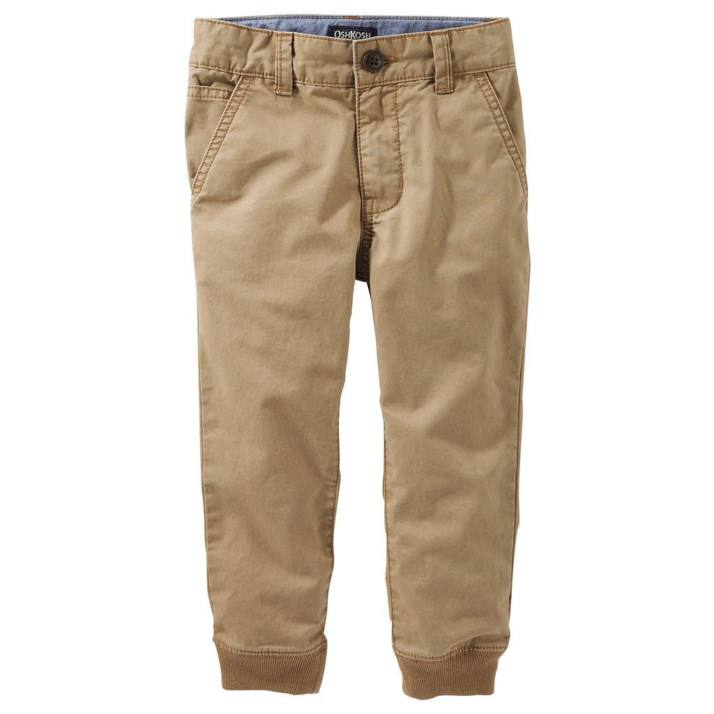 Toddler Boy OshKosh B'gosh Slim Stretch Twill Jogger Pants