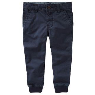 Toddler Boy OshKosh B'gosh Slim Stretch Twill Jogger Pants