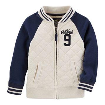 Toddler Boy OshKosh B'gosh® Fleece Varsity Jacket