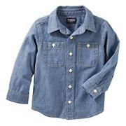 Toddler Boy OshKosh B'gosh® Denim Button Down Shirt