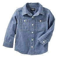Toddler Boy OshKosh B'gosh® Denim Button Down Shirt