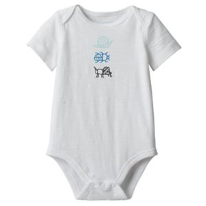 Baby Boy Jumping Beans® Bug Graphic Slubbed Bodysuit