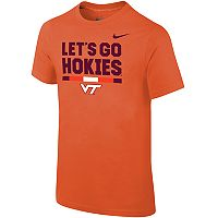 Boys 8-20 Nike Virginia Tech Hokies Local Verbiage Tee