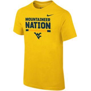 Boys 8-20 Nike West Virginia Mountaineers Local Verbiage Tee