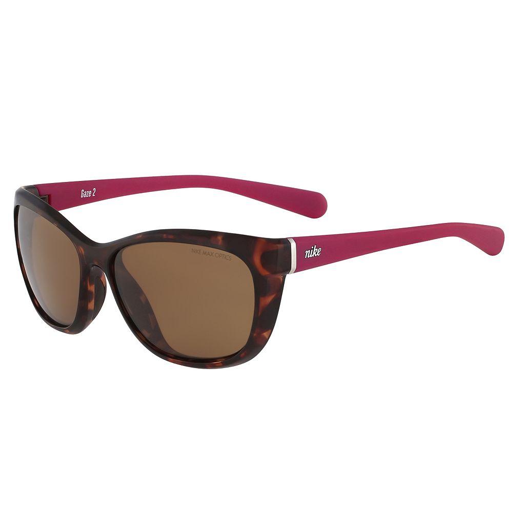 Nike Gaze 2 EV0836SL 58mm Cat Eye Sunglasses