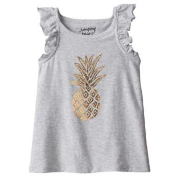 Toddler Girl Jumping Beans® Foiled Pineapple Tank Top