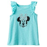 Disney's Minnie Mouse Toddler Girl Glitter Slubbed Tank Top by Jumping Beans®