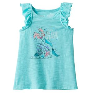 Disney's The Little Mermaid Ariel Toddler Girl Sequin Slubbed Tank Top by Jumping Beans®