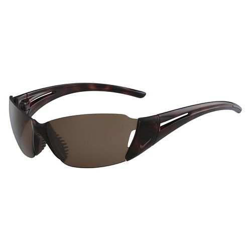 Nike Lunge EV0264SL 64mm Semi-Rimless Wrap Sunglasses