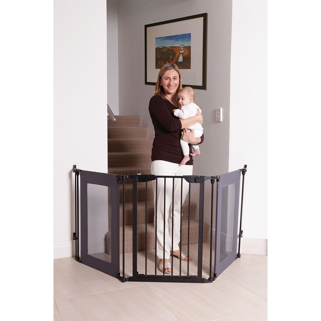 Dreambaby Denver Adapta Gate With Mesh Panels