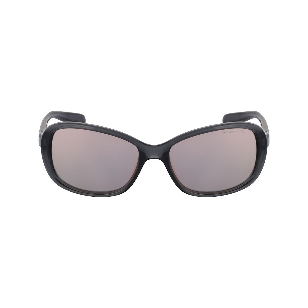 Nike Poise R EV0885SL 57mm Rectangle Mirror Sunglasses