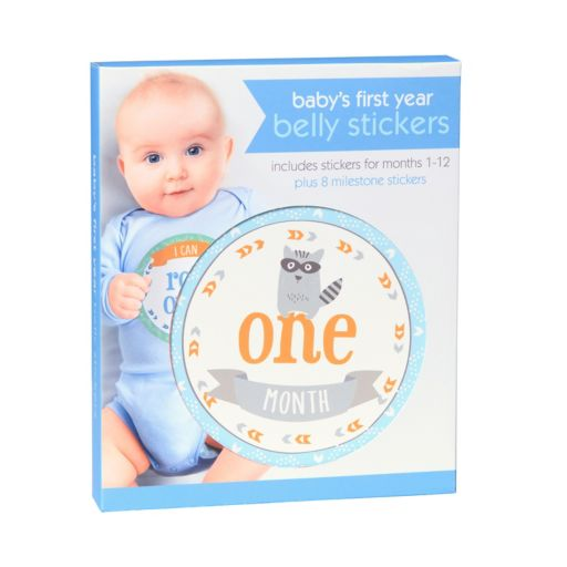 C.R. Gibson Baby's First Year Belly Stickers