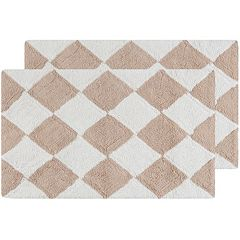 Safavieh 2-pack Harlequin Geometric Bath Rug Set - 21'' x 34''