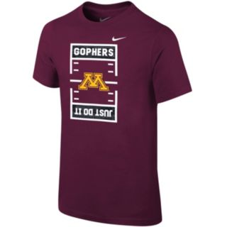 Boys 8-20 Nike Minnesota Golden Gophers Football Tee