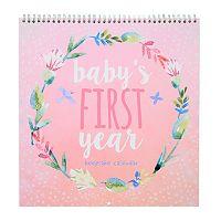 C.R. Gibson Baby's First Year Keepsake Calendar