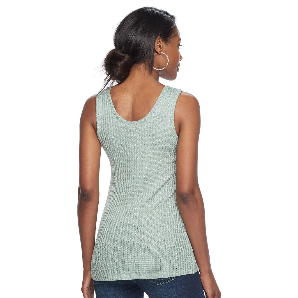Women's Juicy Couture Glitter Textured Tank