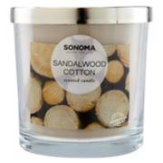 SONOMA Goods for Life™ Sandalwood Cotton 14-oz. Candle Jar