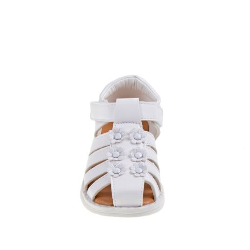 Laura Ashley Toddler Girls' Floral Closed-Toe Sandals