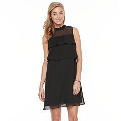 Petite Apt. 9® Tiered Chiffon Dress