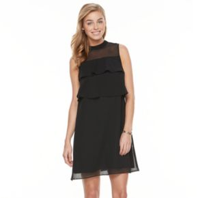 Petite Apt. 9® Tiered Chiffon Dress