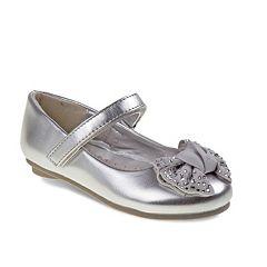 Laura Ashley Toddler Girls' Bow Mary Jane Shoes