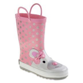 Laura Ashley Toddler Girls' Waterproof Rain Boots