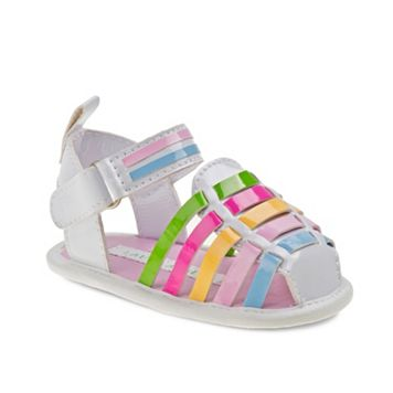 Laura Ashley Baby Girls' Huarache Sandals