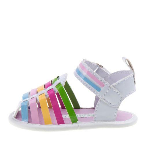 Laura Ashley Baby Girls' Huarache Sandals