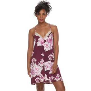 Women's Apt. 9® Pajamas: Dressed Up Comfort Knit Chemise