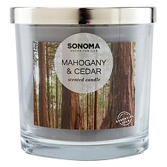 SONOMA Goods for Life™ Mahogany & Cedar 14-oz. Candle Jar