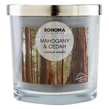 SONOMA Goods for Life™ Mahogany & Cedar 14-oz. Candle Jar