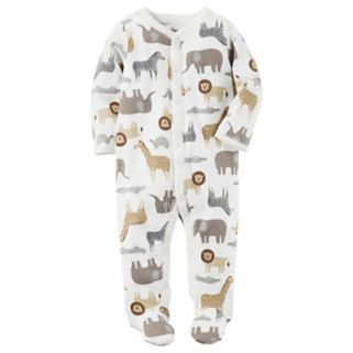 Baby Boy Carter's Zoo Animals Sleep & Play