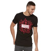Men's Marvel Comics Logos Tee