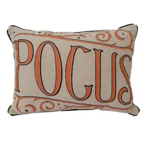 Celebrate Halloween Together Hocus Pocus Reversible Throw Pillow