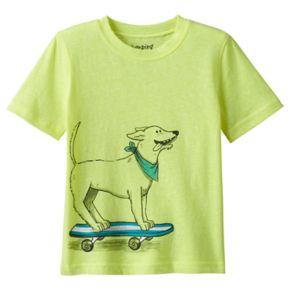 Toddler Boy Jumping Beans® Short Sleeve Animal Neon Graphic Tee