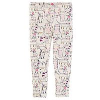 Toddler Girl OshKosh B'gosh® Glittery Kitty Cat Print Leggings