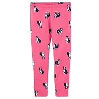 Toddler Girl OshKosh B'gosh® French Bulldog Print Leggings