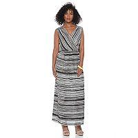 Women's Apt. 9® Faux-Wrap Maxi Dress