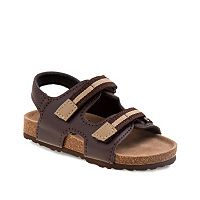Rugged Bear Toddler Boys' Double-Strap Slingback Sandals