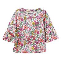 Toddler Girl OshKosh B'gosh® Bell Sleeve Floral Top