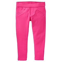 Toddler Girl OshKosh B'gosh® Pink French Terry Skinny Pants