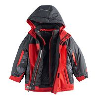 Boys 4-7 ZeroXposur 2-in-1 Quilted Jacket