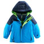 Boys 4-7 ZeroXposur Burst Heavyweight 3-in-1 System Jacket