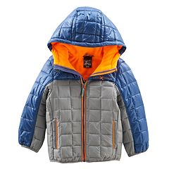 Boys 4-7 ZeroXposur Bluster Midweight Quilted Transitional Jacket