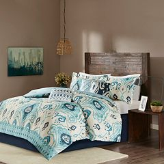 Madison Park 6-piece Sabina Duvet Cover Set