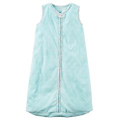 Baby Girl Carter's Polka-Dot Fleece Sleeveless Sleep Bag