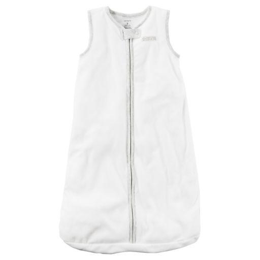 Baby Carter's Solid Fleece Sleeveless Sleep Bag